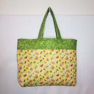Handmade carry all farmers marker tote